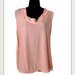 NWOT Zara Sleeveless Light Pink/Blush Top
